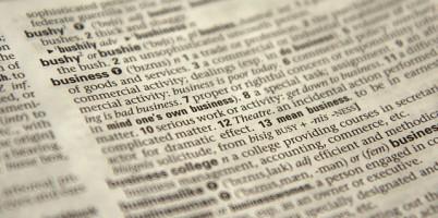 コピーライターと辞書